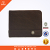 European Designer Coffee Genuine Leather Leather Wallets For Men