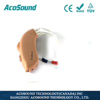 China Alibaba AcoSound Acomate 420 BTE CE TUV ISO Proved Cheap hearing aid price in philippines