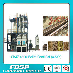 Professional Supply And Design Small Cattle Feed Pellet line _Porket Ring Die Small Feed Mill Plant