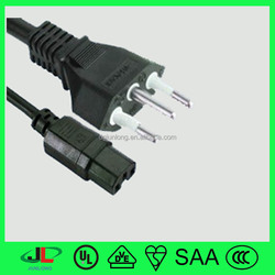italy IMQ plug power supply wire/italy power cord lead/ C13 Connector