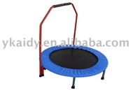 Deluxe Mini Trampoline/Rebounder/Home trampoline/GYM with Stabilizer Bar