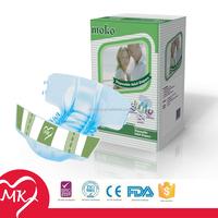 Disposable breathable soft plastic pants adult diaper cover