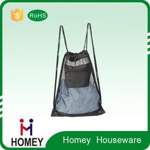 Wholesale Superior Quality Custom Logo Drawstring Bag Laundry
