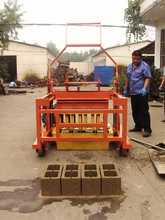 Movable QCM4-30 diesel engine cement building blocks concrete blocks making machine china manufactures