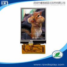 China manufacturer supply 240RGBx320 2.4 inch tft lcd module with Touch Panel