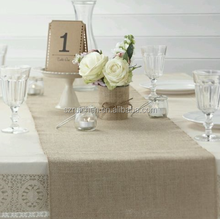 Hessian Burlap 2m table runner Rustic Wedding Decoration Summer Country