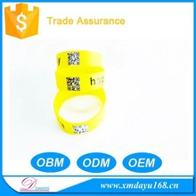 Hot Sale Glow in the Dark Custom Silicone wristband