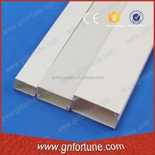 Job lot flat rectangular rigid PVC duct channel