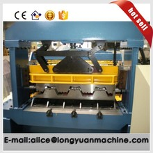 Floor metal decking roll forming making machine/glazed tile making machine