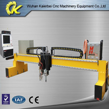 King Cutting brand gantry plasma and flame oxygen cnc sheet metal cutting machine