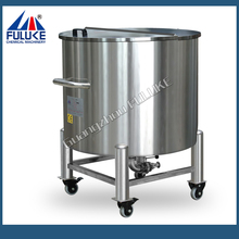FLK hgh quality stainless steel biodiesel storage tanks with rollers
