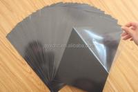 High density rigid and foam self-adhesive PVC sheets for photo album