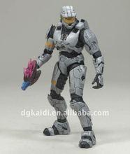 new 3D plastic robot figurines craft toy