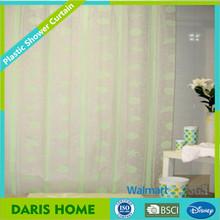 72'*72' peva custom printed shower curtains, plastic shower print