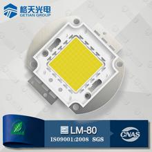 LM-80 Made in P.R.C Bridgelux Epistar Waterproof 50W CRI70 2900-3200K 4500-5000LM COB LED Module