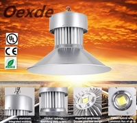 High-intensity150W warm white LED high bay light fixture for warehouse