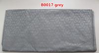 Wholesale cheap brocade women dress fabric of B0017 grey