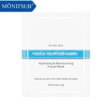 Venta al por mayor cuidado de la piel producto Re - hidratante, Nutritiva y Natural máscara Facial de seda