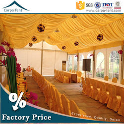 20m x 30m temporary easy to intall and dismantle arabic style marquee wedding party marquee event tent for hot sale