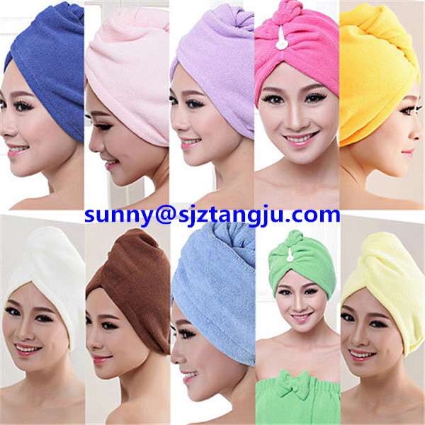 microfiber hair cap, hair turban towel,hair drying towel,hair-drying cap13.jpg