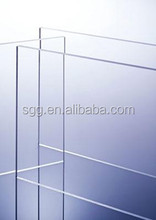 2mm low iron super white tempered solar glass