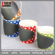 2015 nice design printing writing coffee fine porcelain mug