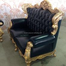 danxueya leather sofa American style furniture american style villa design /luxury villa design -A22