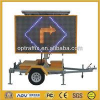 5 Color Full Matrix LED Solar Powered Led Display Signs C Size 2590*1790mm