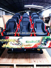 Hydraulic Power System 7D Cinema Equipment with LCD 19 Inches