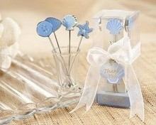 See larger image Creative Romantic Ocean Fruit Fork Wedding Party Supplies Gifts