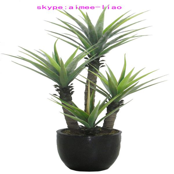Q081721 chinois bonsa artificielle agave palnt pas cher for Arbuste plastique