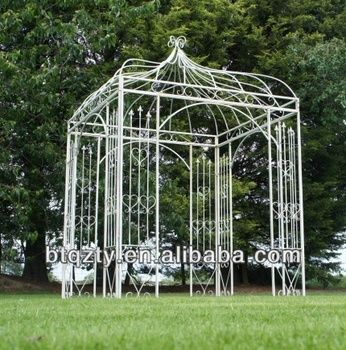 Garden Metal Gazebo : Metal Outdoor Garden Gazebo Pavilion/metal Arbours - Buy Gazebo,Garden ...