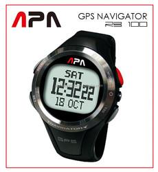 Alpha Sports AlphaSports APA RB100 GPS Navigator Watch - Time/Speedometer/Chronograph/Navigation/HeartRateMonitor/EL Backlight