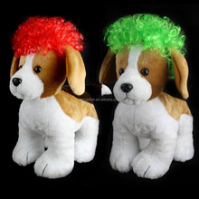 2015 Hot sale cheap 100% Polyester doll wig