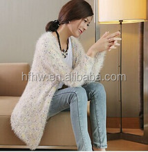 SPRING NEW DESIGN THIN COAT JAPAN FRESH COLORFUL POINT MOHAIR SPRING WOMEN KNITTED SWEATER