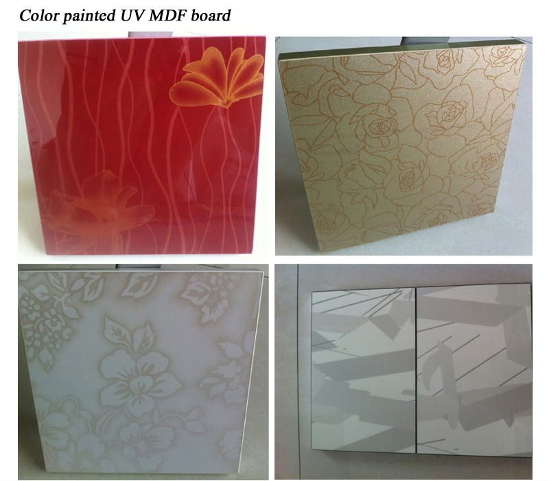 Fashion uv painting mdf board for modern furniture