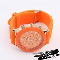 Hot Sale Fashion rubber sports bracelet wrist watch for 2014 new item