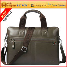 Promote pesonalized 2012 stylish mens leather brief case
