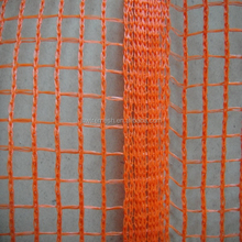 HDPE knitted construction debris netting/150gsm orange with UV knitted debris netting