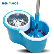 Bekahos New Product Easy Life 360 Rotating Spin Magic Mop Blue Mini Bucket Mop As Seen On TV Spin Magic Mop