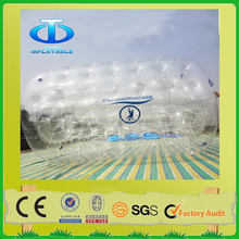 New style branded cheap inflatable water rolling ball