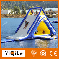 Inflatable floating island Giant inflatable water slide for adult