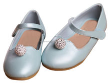 2014 new styles of genuine leather girls casual shoes