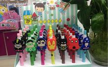 Customized Avengers Design Logo Print Cheapest Novelty Promotional Plastic Ball Pen for kids christmas gifts