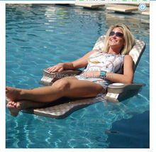 New Products 2015 Inflatable Pool Chair and Swimming Pool Bed For Floating Water Games