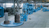 dust collect made in QIngdao Hot Sale Steel Bar Automatic Blast Machine/Concrete Iron Shot-Blasting