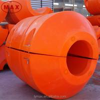 Large Diameter I.D.220-940mm MDPE Plastic Pontoon Floats for Dredging Pipeline Projects