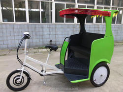 2 seats tricycle / rickshaw