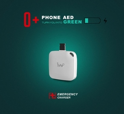 One-time use emergency charger power bank for iPhone and Andriod phone