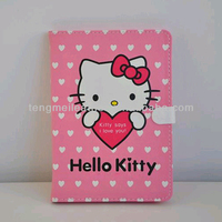 New Arrival For Hello Kitty iPad Mini Leather Case ,Wholesale Price For iPad Mini Case,Cute Pink Case For iPad Mini